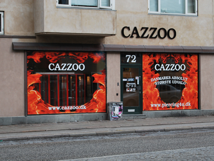 Cazzoo piercing jewellery
