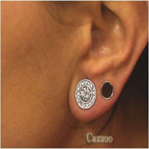 ørepiercing smykker og huller i ørerne
