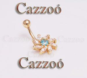 Ny guld piercing smykker cazzoo piercinger piercer